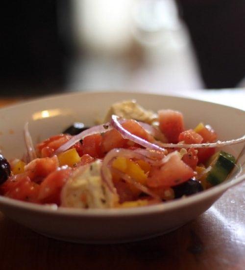salade crétoise,recettes